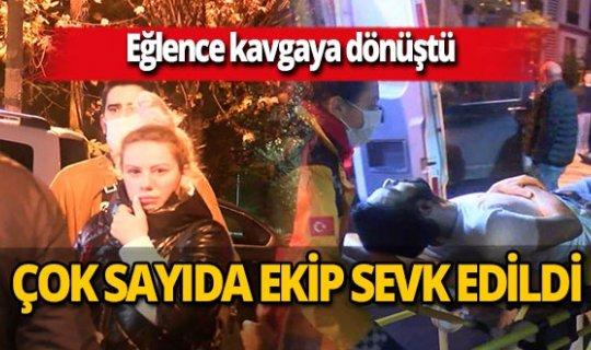 İstanbul'da evde eğlenen grup arasında kavga çıktı! Selçuk Durna yaralandı
