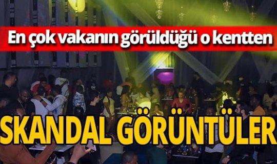 İstanbul'da inanılmaz görüntüler! Koronavirüs yok gibi eğlendiler!