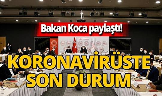 Sağlık Bakanı Fahrettin Koca duyurdu! İstanbul'da koronavirüs toplantısı