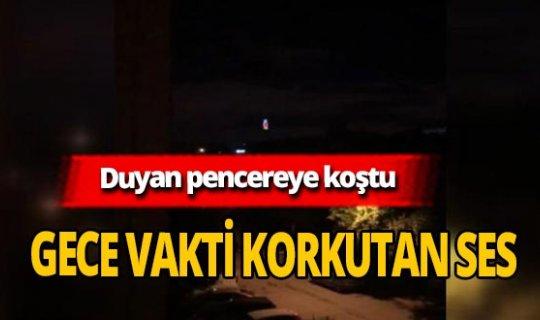 İstanbul'da paniğe neden olan siren sesi