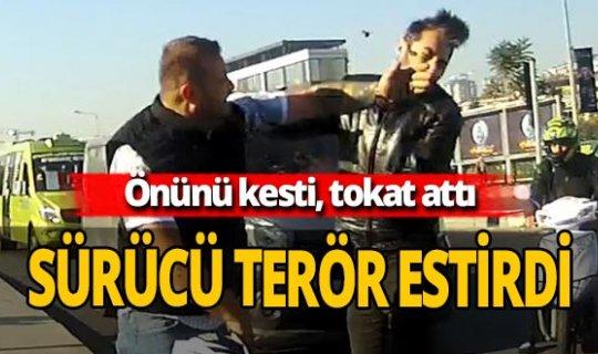 İstanbul'da yol verme tartışması trafiği birbirine kattı