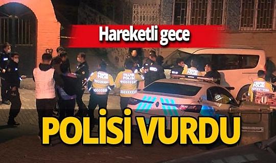 İstanbul Fatih'te etrafa rastgele ateş açtı, polisi bacağından yaraladı!