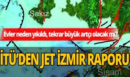 İTÜ'den jet İzmir raporu