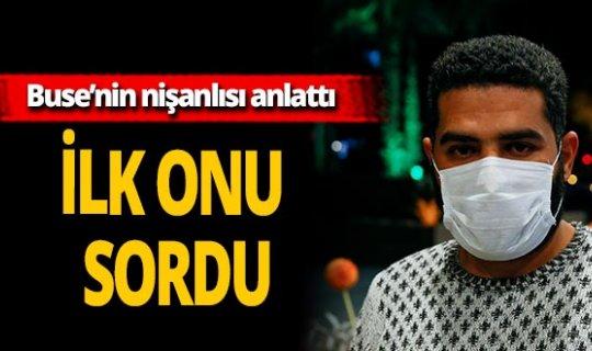 İzmir'de enkaz altından kurtarılan Buse Hasyılmaz'ın nişanlısı açıklama yaptı