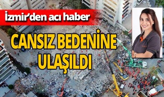 İzmir'de Zarife Doğan'ın cansız bedenine ulaşıldı