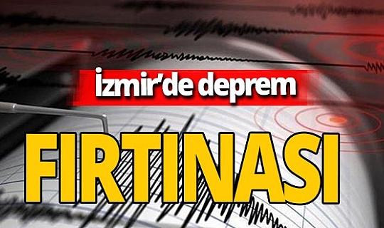 İzmir'deki büyük deprem sonrası çok sayıda artçı deprem meydana geldi!