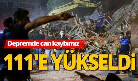 İzmir'deki depremde can kaybıyla ilgili AFAD'dan açıklama!