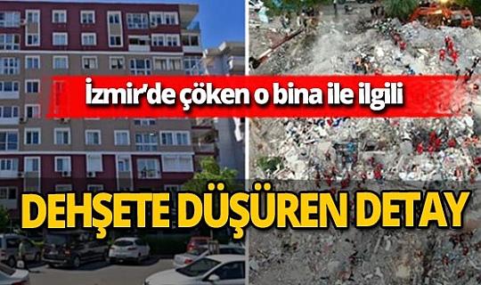 İzmir'deki depremde çöken Rıza Bey Apartmanı ile ilgili şoke eden detay