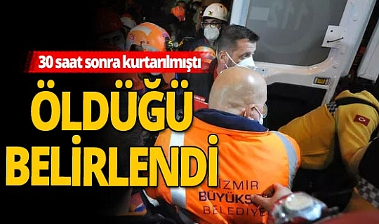 İzmir'den kahreden haber!