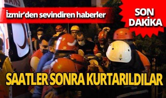 İzmir'den sevindiren haber! Gülçin Aykut 16 saat sonra kurtarıldı