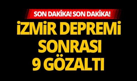 Son dakika! İzmir depremi sonrası flaş gelişme!