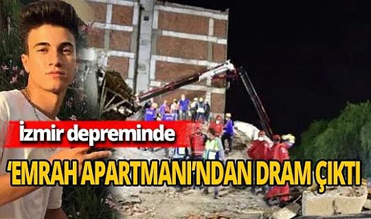 İzmir depreminde acı tesadüf: 'Emrah Apartmanı'
