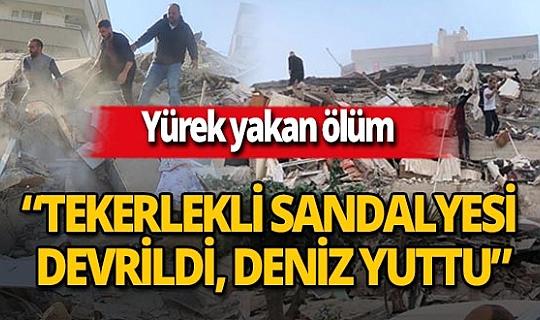 İzmir depreminde kahreden ölüm!
