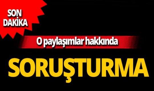 Son dakika...İzmir depremiyle ilgili o paylaşımlara soruşturma!