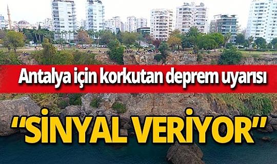 Jeoloji Mühendisleri OdasıAntalyaŞube Başkanı Bayram Ali Çeltik: