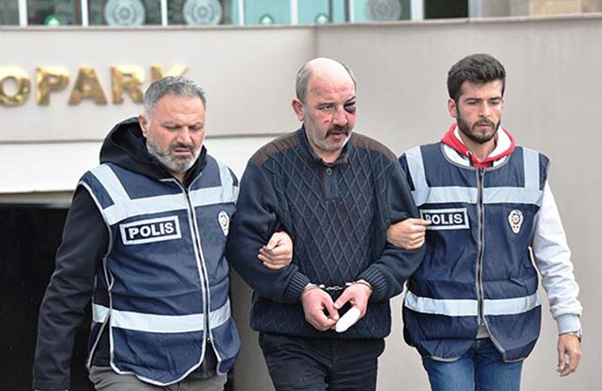 Kaleiçi'nde 'laf atma' cinayetine 14 yıl 2 ay hapis