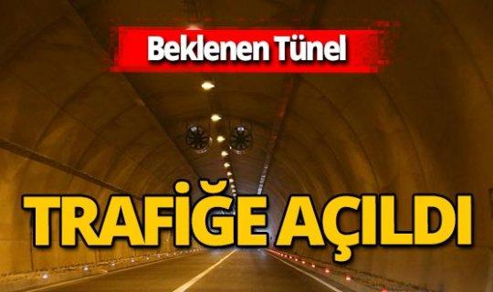 Karadeniz - Akdeniz yolunda sona gelindi! Topçam Tüneli açıldı!