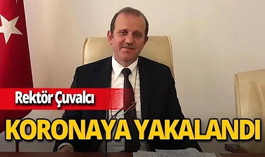 Karadeniz Teknik Üniversitesi Rektörü Prof. Dr. Hamdullah Çuvalcı koronavirüse yakalandı