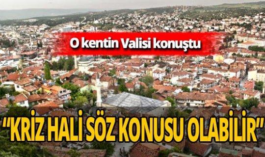 Kastamonu Valisi Avni Çakır'dan korkutan uyarı: Kapasiteler dolma aşamasında!