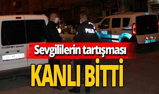 Kayseri'de sevgililerin tartışması bıçaklı kavgaya dönüştü