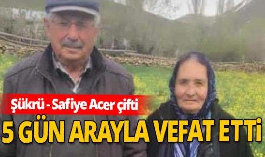 Kayseri'de yaşlı çift, koronavirüsten öldü