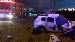 Feci kaza! 2 kişi yaşamını yitirdi