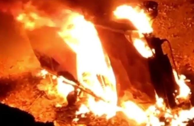 Antalya'da feci kaza! Sürücü yanarak can verdi