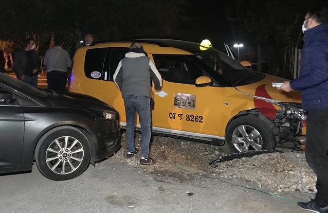 Taksi çalan şüpheli, polisin kovalamacasıyla yakalandı