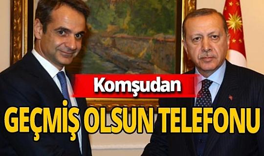 Kiriakos Miçotakis'ten Recep Tayyip Erdoğan'a  geçmiş olsun telefonu