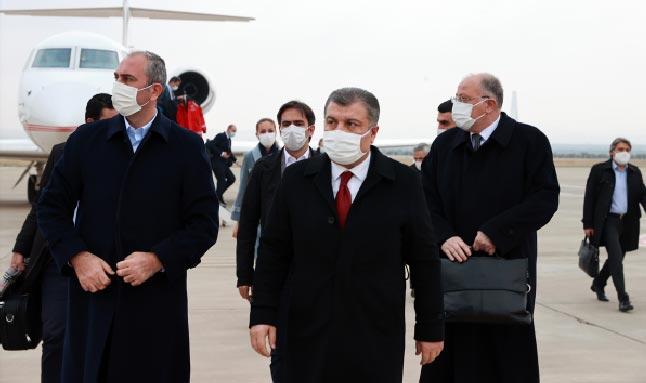 Son dakika! Sağlık Bakanı Fahrettin Koca Gaziantep'te