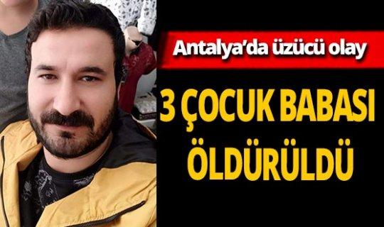 Komşu kavgasında 3 çocuk babası Ömer Ula öldürüldü