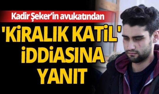 Konya Baro Başkanı Mustafa Aladağ'dan Kadir Şeker açıklaması!