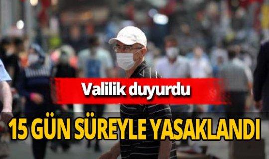 Konya'da gösteri yürüyüşü, oturma eylemi ve çadır kurma etkinlikleri yasaklandı