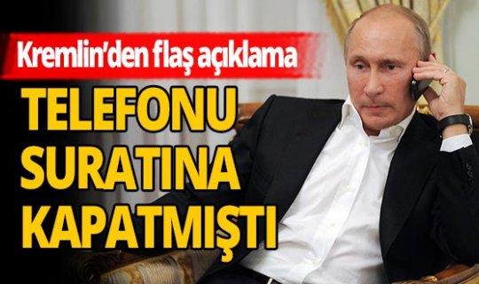 Kremlin'den flaş açıklama