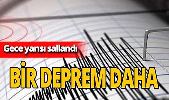 Kuşadası'nda 3.3 şiddetinde deprem oldu