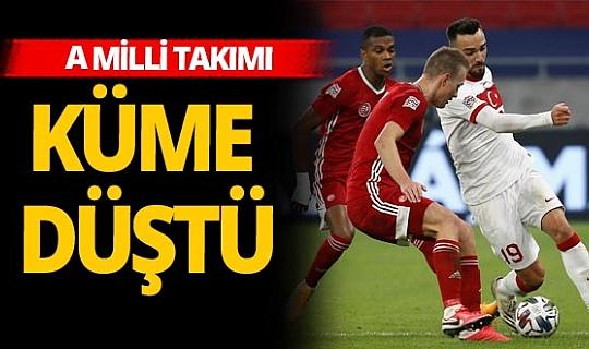 Son dakika! Macaristan - Türkiye maçı sona erdi...