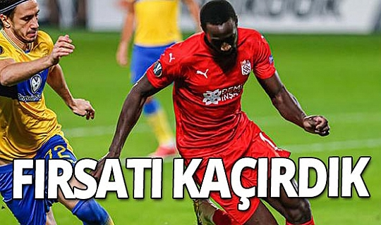 Maccabi Tel Aviv - Sivasspor maçı sona erdi...