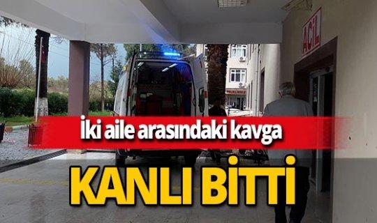 Manisa'da iki aile arasında çıkan kavga kanlı bitti: 2 yaralı!