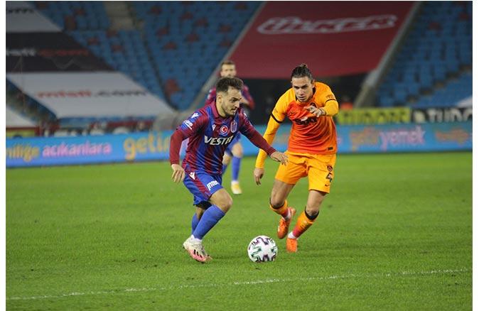 Galatasaray Trabzon'dan lider döndü