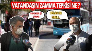 Antalya'da Toplu ulaşıma gelen zammı vatandaş nasıl karşıladı?
