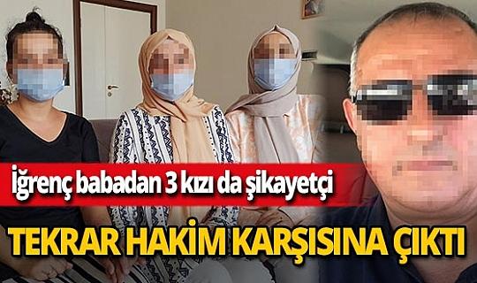 Mersin'de 3 kızına cinsel istismarda bulunan baba serbest bırakıldı