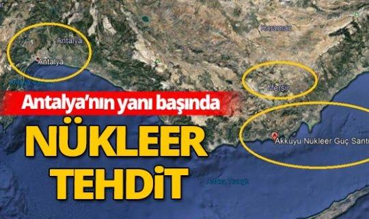 Mersin'de inşa edilen santral fay hattının dibinde
