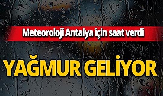 Meteoroloji'den peş peşe yağmur uyarısı!