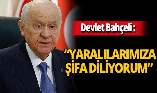 """MHP Lideri Devlet Bahçeli: """"Devlet-millet dayanışmasıyla zorlukların üstesinden gelineceğine inanıyorum"""""""