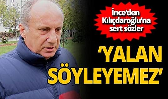 Muharrem İnce'den Kemal Kılıçdaroğlu'na: 'Sıkıştığı zaman ortaya bir yalan atıyor'