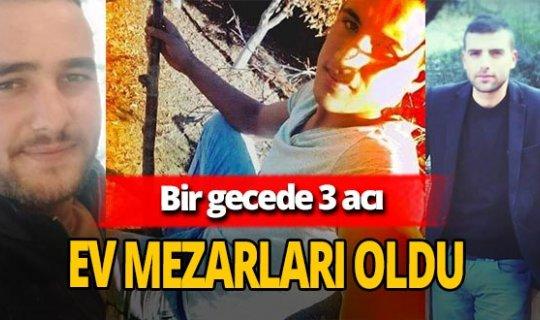 Murat Işıklı, Barış İçöz ve Hüseyin Temel sobadan zehirlenerek hayatlarını kaybetti