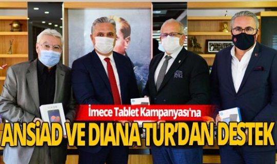 Muratpaşa'nın 'İmece Tablet Kampanyası'na destek sürüyor