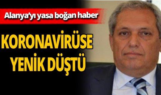 Mustafa Aras koronavirüs nedeniyle hayatını kaybetti