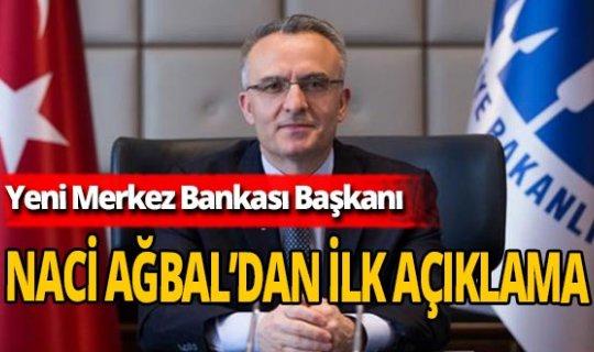 """Naci Ağbal: """"Temel amacımız fiyat istikrarını sağlamak ve sürdürmektir"""""""