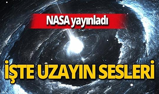 NASA yayınladı! İşte uzayın sesleri
